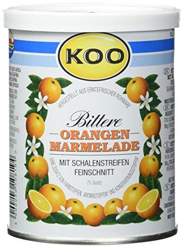 Koo Bittere Orangen-Marmelade, 12er Pack (12 x 450 g Dose)