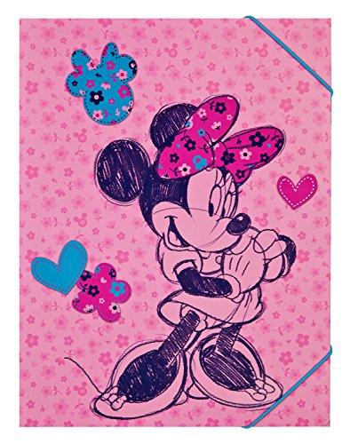 Undercover mihl0300A4-Carpeta con Goma, Disney Minnie Mouse