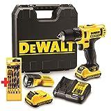 DeWALT DCD710D2F 10,8 V / 2 Ah Aktions-Set