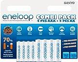 Sanyo Eneloop AA and AAA Combi Pack