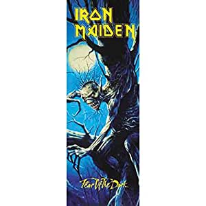 Iron Maiden Fear Of The Dark Door-Flagge Standard