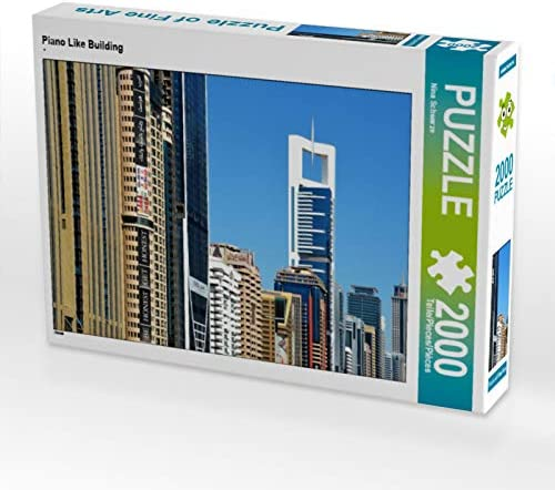 CALVENDO Puzzle Piano Like Building 2000 Teile Lege-Grösse 90 90 90 x 67 cm Foto-Puzzle Bild Von Schwarze Nina | De Haute Qualité  d89e7b