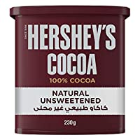 ‏‪Hershey's Cocoa Natural Powder Unsweetened, 230 gm‬‏