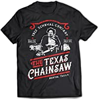 9386 Leatherface Tree Removal Uomo T-Shirt The Texas Chainsaw Massacre Saw Wrong Turn Sawyers Last Chance Gasoline