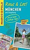 MARCO POLO Raus & Los! München und Umgebung: Guide und große Erlebnis-Karte in praktischer Schutzhülle