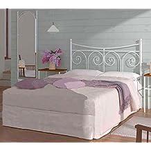 HOGARES CON ESTILO - Cabecero de Forja nacional modelo PALMA para una cama de 135 cms