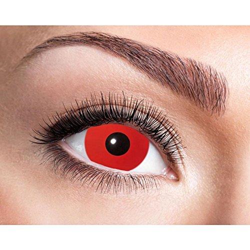 Zoelibat lenti a contatto colorate rosse senza gradazione make up diavolo ps 11253 semestrali