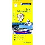 Eure, Seine-Maritime Michelin Local Map 304 (Michelin Local Maps)
