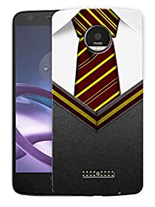 "Humor Gang British Classroom TiePrinted Designer Mobile Back Cover For ""Motorola Moto Z Force"" (3D, Matte Finish, Premium Quality, Protective Snap On Slim Hard Phone Case, Multi Color)"