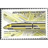 Francia 2460 (completa.edición.) 1984 TGV Post Transporte (sellos para los coleccionistas) vehículos sobre raíles
