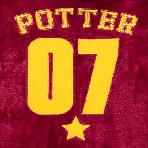 51hDZofOswL - Harry Potter - Bata para niños - Hogwarts Rojo 12-13 Años