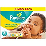 Pampers New Baby Taille 3 Midi 4-7kg (74) - Paquet de 6