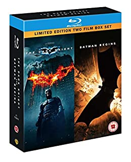 The Dark Knight / Batman Begins (Double Pack) [Blu-ray] [Region Free] (B001GMALGY) | Amazon price tracker / tracking, Amazon price history charts, Amazon price watches, Amazon price drop alerts