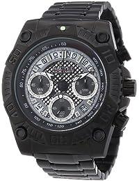 Nautec No Limit Herren-Armbanduhr XL Twister Chronograph Quarz Edelstahl beschichtet TW QZ/RBIPBK