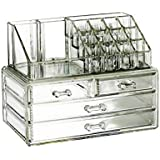 Cosmetic Organizer Makeup drawers Acrylic Clear Cabinet