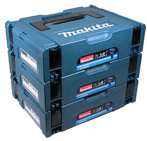 Preisvergleich Produktbild Makita Makpac Gr. 1 Transportbox 3er Set