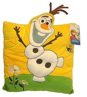 Disney Frozen 115218 - Cojín de peluche Disney Frozen (115218) - Cojín Frozen Peluche Olaf 3D, Juguete Peluche Hogar Primera infancia a partir de 4 años a partir de 6 por Disney Frozen