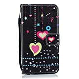 YIHUI Protective Case Cover Colorful Heart Pattern
