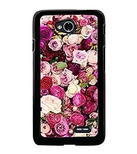 Roses 2D Hard Polycarbonate Designer Back Case Cover for LG L70