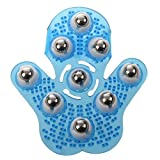 GMMH ORIGINAL Massage-Handschuh mit 9 360-Grad-Rollen 16 х 14 сm blau