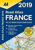 Road Atlas France 2019 (AA Road Atlas France)