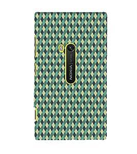 Fiobs Designer Phone Back Case Cover Nokia Lumia 920 :: Micosoft Lumia 920 ( Multi Color Diamond Design )