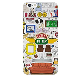 EJC Avenue iPhone 6 / 6s Friends Silicone Case/Cover for Apple iPhone 6 / 6s (4.7