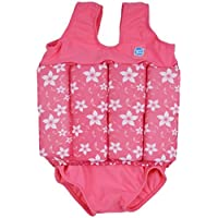 Splash About Adjustable Buoyancy Float Suit - Pink Blossom, 1 - 2 Years by Splash About