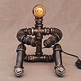 Hanamaki Loft RH Industriel Style Décoration Bureau Lampe Creative Pensée Robot Étudiant Lampe De Lecture dans Le Salon Chambre Chambre Hôtel
