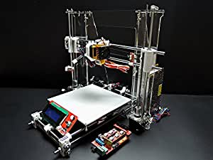 Sintron] Ultimate 3D Printer 3D Drucker Full Complete Kit for DIY Reprap Prusa i3 + RAMPS 1.4, Mega 2560, MK8 Extruder, MK3 Heatbed, Stepper Motor and LCD Controller