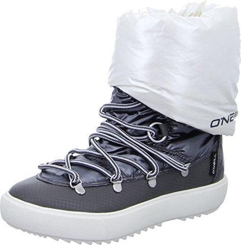 O'Neill Montebelluna nylon Damen Warm gefütterte Schneestiefel Grau