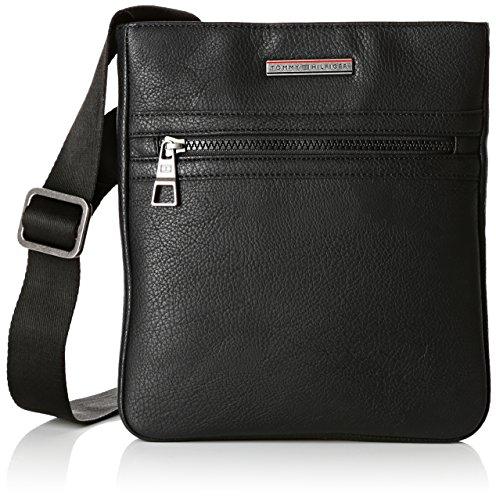 Tommy Hilfiger Herren Essential Flat Tasche, Schwarz (Black 002), 24x3x26 cm