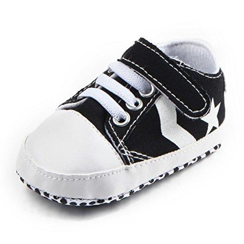 leap frog  Huarache Sneakers, Baby Jungen Lauflernschuhe Schwarz