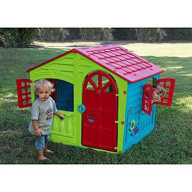 PALPLAY LTD. PalPlay 3000780 - Kinderspielhaus House of Fun, Bunt Preisvergleich