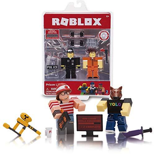 Roblox - Game Pack 2 Personajes y accesorios, Multicolor (Giochi Preziosi RBL12000)