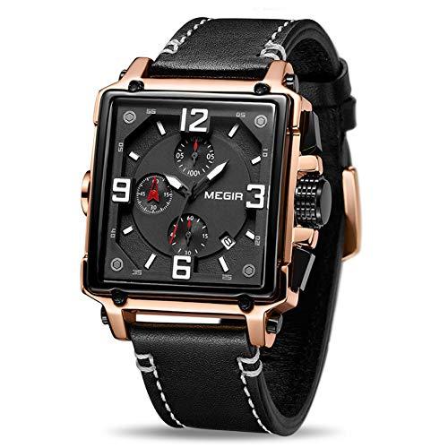 SBDONGJX Quartz Hommes Montre Top Luxe Chronographe Montres De Sport Hommes Horloge Armée Montres Militaires Relogio Masculino Montres