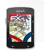 3 x atFoliX Anti-Choque Lámina Protectora de Pantalla Garmin Edge 520 Antichoque Película Protectora - FX-Shock-Antireflex
