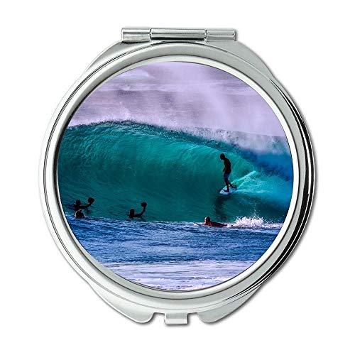 Yanteng Spiegel, Reise-Spiegel, Action-Australien-Strand, Taschenspiegel, tragbarer Spiegel
