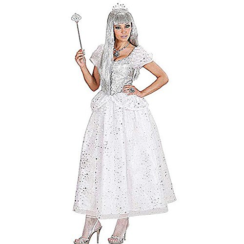 Ice Queen Costume Medium for Medieval Royalty Middle Ages Fancy (Dress Fancy Kostüm Queen Ice)