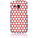 Sublinov Coque rigide pour Samsung Galaxy S3 Mini Motif Point Rouge
