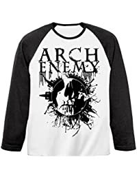 Arch Enemy - Langarmshirt - Skull Baseball