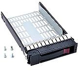 RGBs 8,9cm 373211–001SATA SAS Festplatte Tray Caddy für HP Compaq ProLiant ML350G4p ML350G5G6ML370G5DL 180G6mit 4Schrauben