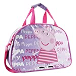Officially Licensed - Good Size Peppa Pig School Sports Travel Gym Bag