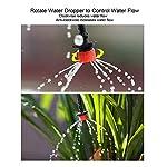 """ZDYLM-Y Bewässerungssystem Garten Micro Drip, 4/7""""Blank Distribution Tubing Bewässerung Sparen von Wasser Automatische Gartenbewässerung für Blumenbeet, Patio"""