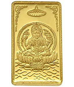 TBZ - The Original 25 gm, 24k(999) Yellow Gold Laxmi Precious Coin