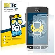 2x BROTECT HD-Clear Protector Pantalla Doro Liberto 820 Mini Película Protectora – Transparente, Anti-Huellas