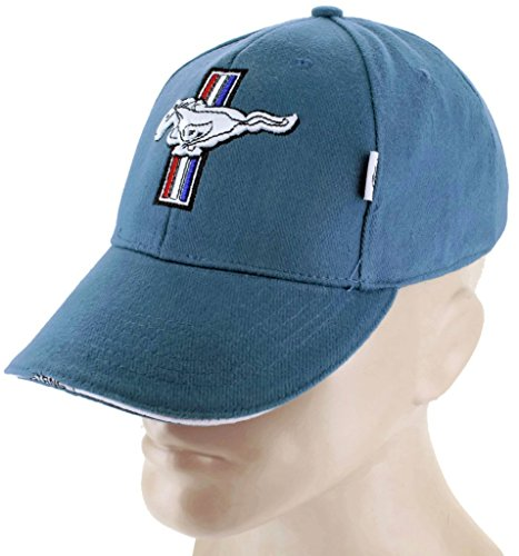 Price comparison product image DanteGTS Ford Mustang GT Blue Baseball Cap Trucker Hat Snapback 5.0 Liter Cobra