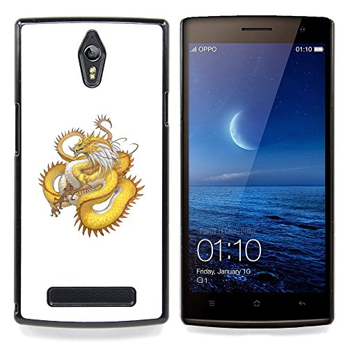 skcase-center-coque-housse-case-etui-cover-or-yellow-dragon-serpent-long-tail-oppo-find-7-x9077-x900