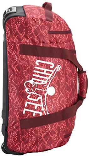 Chiemsee Rolling Duffle, sac bandoulière Rot (Cangoobatik)