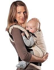 manduca First Babytrage > Sand <| Das Original aus Hanf und Biobaumwolle | Atmungsaktiv | Patentierte Rückenverlängerung   Mitwachsend von 3,5kg bis 20kg